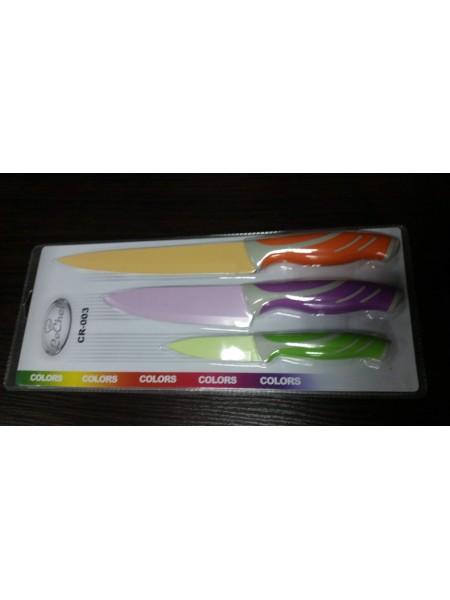 Набор ножей Le Chef Color CR-003